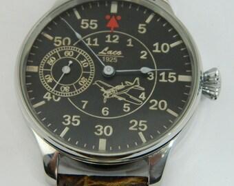 Swiss Wrist Watch Laco 1925 Aviator #855S