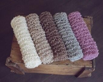 Newborn Lace Wrap, Basket Stuffer, Neutral, Lace Blanket, Newborn Photography Prop, UK seller
