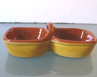 Vintage Made in Italy Ceramic Condiment  Dish