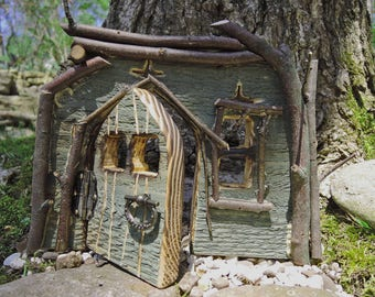 Fairy Door with mystic River Birch Branches