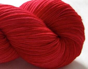 Hand Dyed Yarn - Splendid - Alizarin Crimson