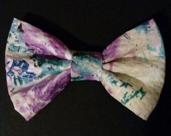 Purple & Blue Bow