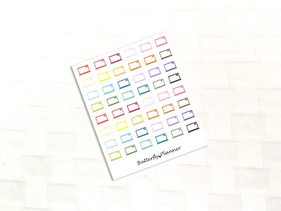 Calendar Planner For Laptop : Laptop stickers planner calendar reminder