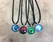 Avatar the Last Airbender necklace anime gift ideas air earth water fire elements