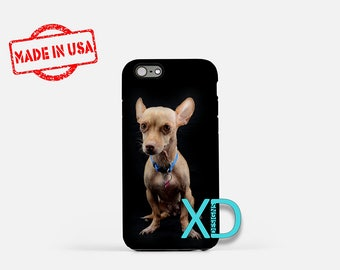 Chihuahua iPhone Case, Dog iPhone Case, Chihuahua iPhone 8 Case, iPhone 6s Case, iPhone 7 Case, Phone Case, iPhone X Case, SE Case