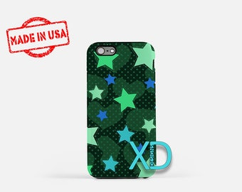 Stars and Hearts iPhone Case, Stars and Hearts iPhone 8 Case, iPhone 6s Case, iPhone 7 Case, Phone Case, iPhone X Case, SE Case