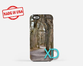 Woods iPhone Case, Path iPhone Case, Trees iPhone 8 Case, Path in the Woods, iPhone 6s Case, iPhone 7 Case, Phone Case, Safe Case, SE Case