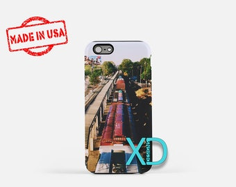 Train iPhone Case, Vintage iPhone Case, Train Track iPhone 8 Case, Railroad, iPhone 6s Case, iPhone 7 Case, Phone Case, Safe Case, SE Case