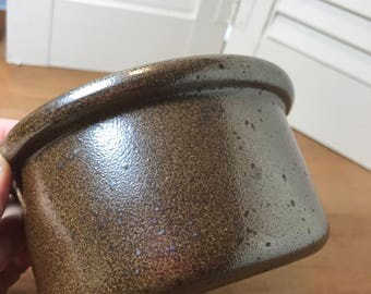 Tue Poulsen For Eslau Pottery Marren Line Danish Bowl