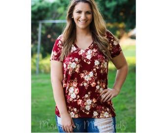 Mama Ava Top & Tunic PDF Sewing Pattern Sizes
