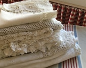 Beautiful vintage tablecloth collection uk