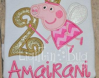 Peppa Pig birthday shirt birthday