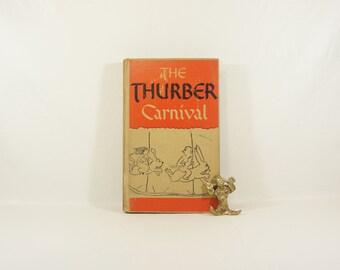 Vintage JAMES THURBER - The Thurber Carnival - 1945