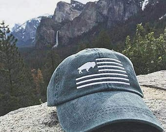 Buffalo Flag Hat