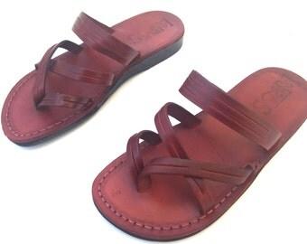Leather Sandals, Leather Sandals Women, Sandals, Women's Shoes, DANA, Flip Flops, Biblical Sandals, Jesus Sandals, Sandals