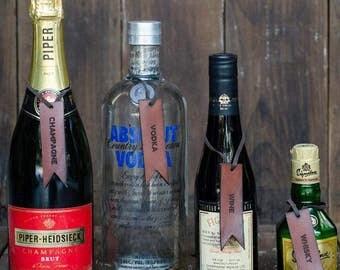 Laser-Engraved Bottle Tags
