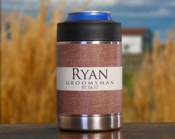 Personalized Groomsman Gift, Set of 10