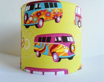 Children lampshade, Children drum lampshade,