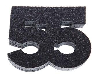 55th Birthday Confetti, 55th Anniversary Confetti, Fifty Fifth Birthday Party Decor,55th Birthday Decor,55th Birthday Favor, 55th Milestone