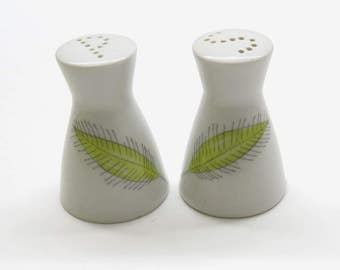 Rosenthal Form 2000 | Decor leaves | Design Ratham Loewy 1950-1970 | Salt and pepper shakers