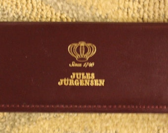 Jules Jurgensen Leather Presentation Watch Box (Box Only)