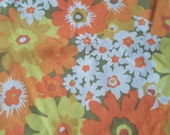Vintage Double/Full Fitted Sheet