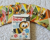 Vintage Busy Bee Card Game 1959 COMPLETE