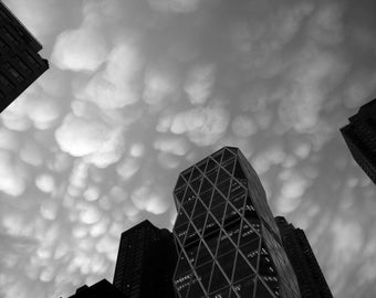 Clouds over Hearst Tower l, NYC 2009