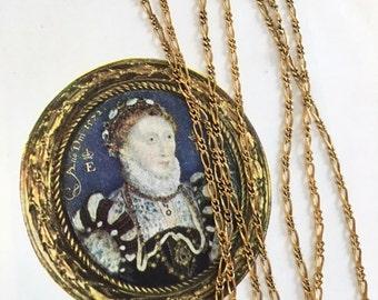Vintage Antique Gold Chain, Fancy Figaro Chain, Decorative Chain, 3Ft