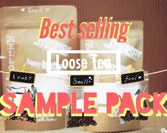 Featured TEA - FUN Tea Sample collection (10 most popular varieties)