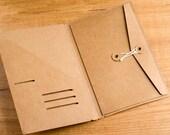 Carpeta kraft para Traveler's Notebook - TAMAÑO WIDE & A5