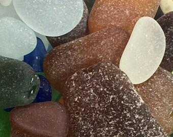 Bulk Sea Glass, Genuine, Beach Glass, Loose, Terrarium, Aquarium, Accessories