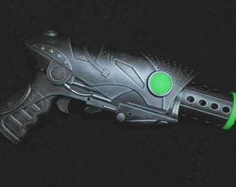 Steampunk Gun, Ray gun, Pistol, Cosplay, Sci Fi,  Blaster