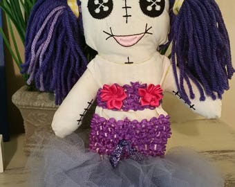 Juju mermaid or princess tutu set by Posh Couture NOTE: doll NOT included
