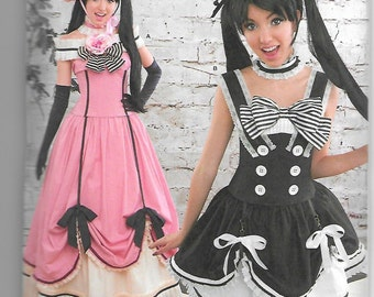 8233 Simplicity Anime Costume Sewing Pattern Sizes 14-22 Does Not Make Hat or Gloves
