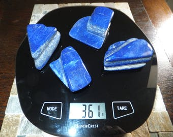 LAPIS LAZULI x 4 Substantial Specimens TOTAL 361g  MF4434