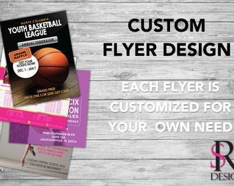 Flyer Design, Postcard Flyers, Printable Flyers, Social Media Flyers