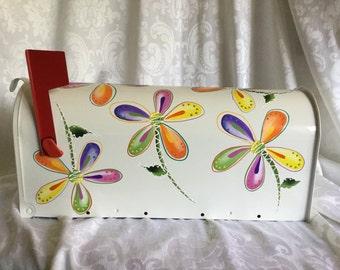 Daisy  Hand Painted Mailbox