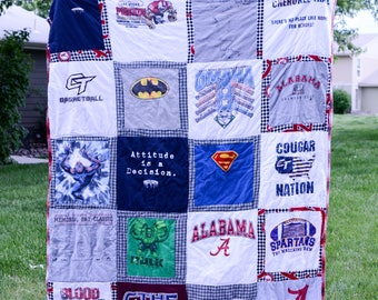 T Shirt Quilt - Full / Queen