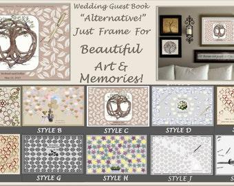 Wedding gust book,guest book alternative,wedding art,Bride Jewelry,White Pearl jewelry, wedding jewelry, bridal necklace
