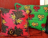 Custom Order For Tosin - Handcrafted Ankara Fabric Pillow Covers, Table Mats and Table Runner Set