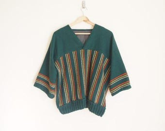 Vintage 1970s Striped Sweater