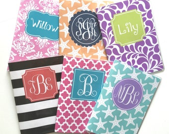 Personalized Passport Holder - Create Your Own Design - Heavy Vinyl with Cardstock Insert - Fits US Passport