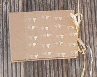 Kraft Bunting Flags Photo Album