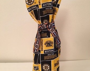 Boston Bruins bottle gift bags