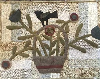 Quilt Applique Pattern - Spring is Calling