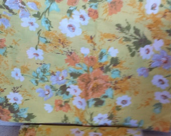 70's Flower Power Pillow Cases