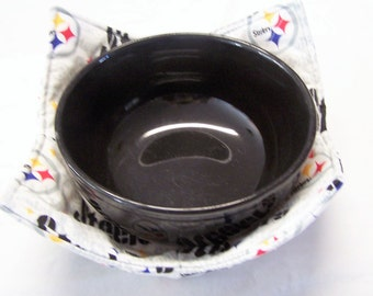 Pittsburg Steelers NFL Football Microwave Bowl Cozy/Holder/ Pot Holder/  Kitchen Utensil/
