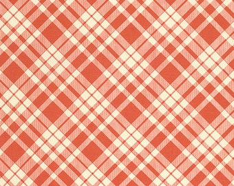 Eastham Plaid in Bittersweet by Denyse Schmidt for Free Spirit Fabrics DS102- Half Yard or By the Yard