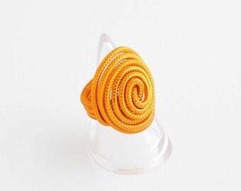 Wire ring Orange